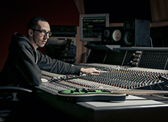 A multitalented producer/engineer who masters all his projects and creates his own plug-ins
