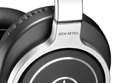 A review of the Audio-Technica ATH-M70x headphones