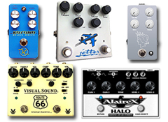 The best overdrive pedals for electric guitar