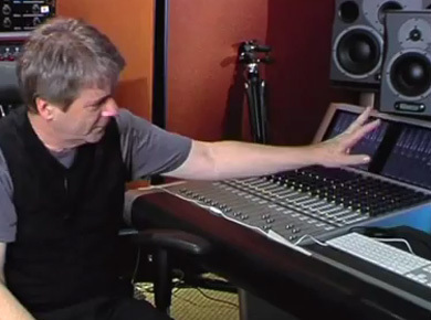 Masterclass with George Massenburg on different topics related to music production