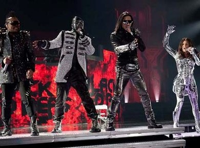 Fergie, Will.i.am, Taboo and Apl.de.ap are Off to See the Wizard.