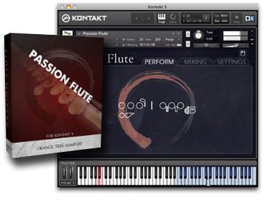 Orange Tree Samples Passion Flute Review