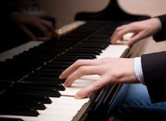 Left-hand voicings for piano