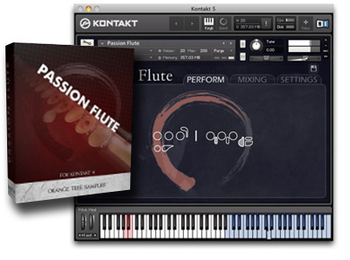 Orange Tree Samples Passion Flute Review : The Flute Passion