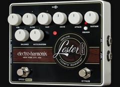 Review of the Electro-Harmonix Lester G Deluxe Rotary Speaker pedal