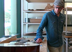 Talking about guitar building with the man who designs Taylor guitars