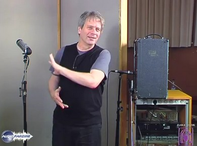 Masterclass on Guitar, Vocals & Organ Recording with George Massenburg