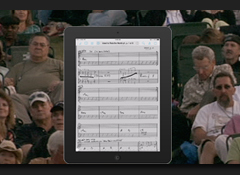 The pros and cons of using an iPad to view charts and lyric sheets on the gig