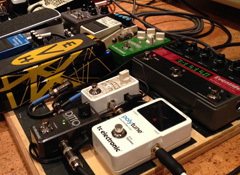 The top big brands for guitar effect pedals
