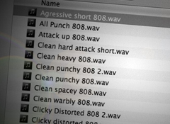 Organize Your DAW Files to Work Better and Faster