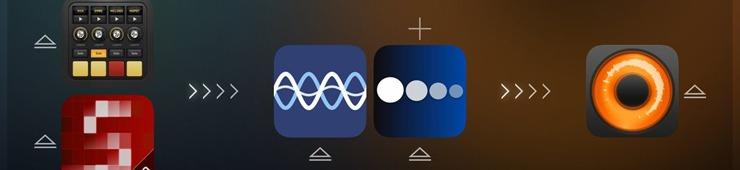 Con múltiples aplicaciones de audio trabajando juntas, las posibilidades son infinitas