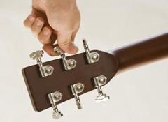 Adaptar su guitarra eléctrica a su afinación