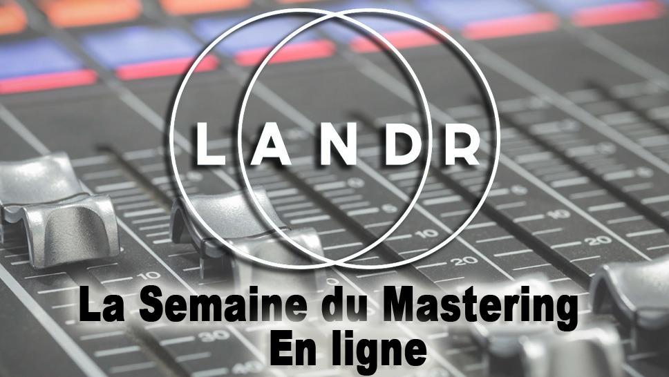test comparatif du service canadien de mastering audio automatis en ligne landr audiofanzine. Black Bedroom Furniture Sets. Home Design Ideas
