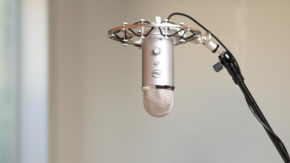 La hauteur du micro pour la prise de chant