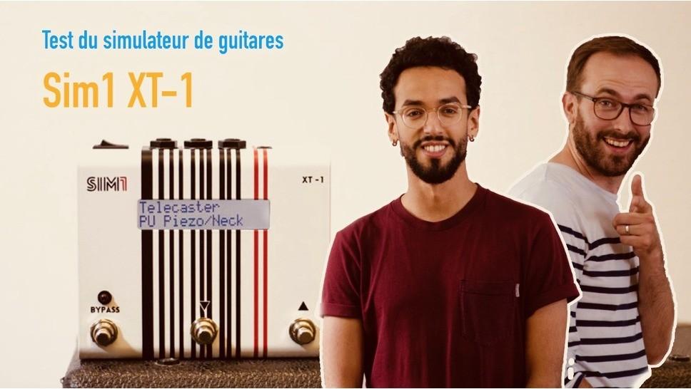 test de la p dale de simulation de guitares sim1 xt 1 audiofanzine. Black Bedroom Furniture Sets. Home Design Ideas