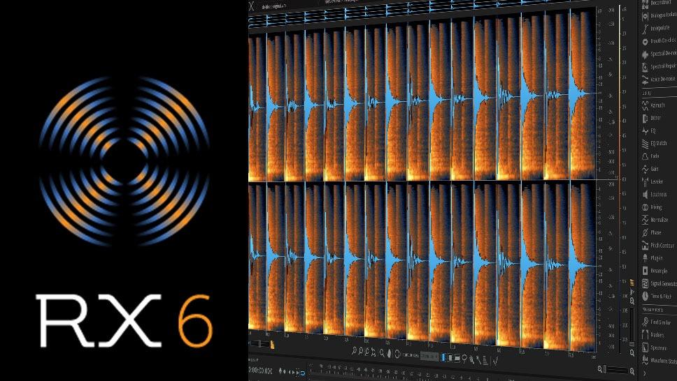 Test de RX 6 d'Izotope, suite de restauration audio