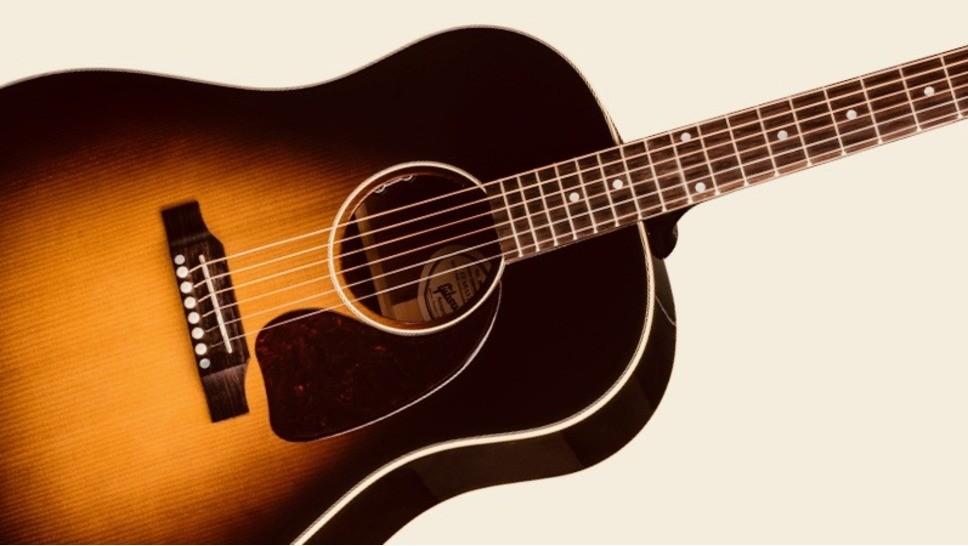 Test de la guitare électro-acoustique Gibson J-45 Standard ...