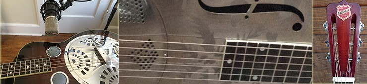 Comment capturer le son des Dobro, National et autres guitares à résonateur