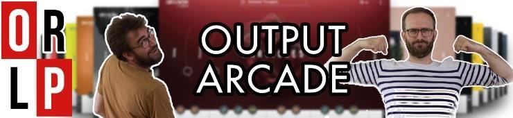 Test d'Output Arcade