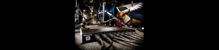 Test de l'interface audio Thunderbolt Apogee Element 88
