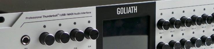 Test de la Goliath de Antelope
