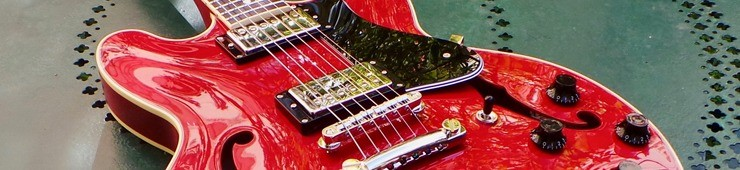 Test de la guitare électrique semi-hollow FGN Masterfield MSA-HP