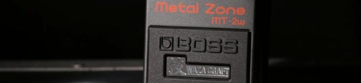 Test de la pédale Boss MT-2w Waza Craft