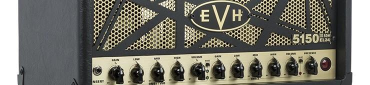 Test de la tête d'ampli EVH 5150 III 50W EL34