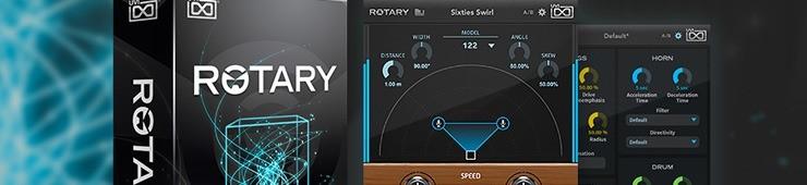 Test de UVI Rotary, simulateur de cabine à haut-parleurs rotatifs