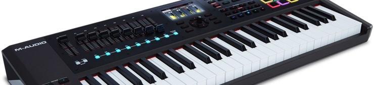 Test du clavier de contrôle M-Audio CTRL49