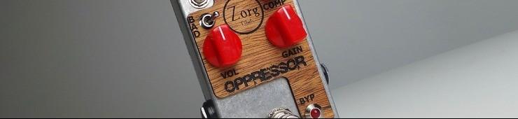 Test du compresseur pour guitares Zorg Effect Oppressor