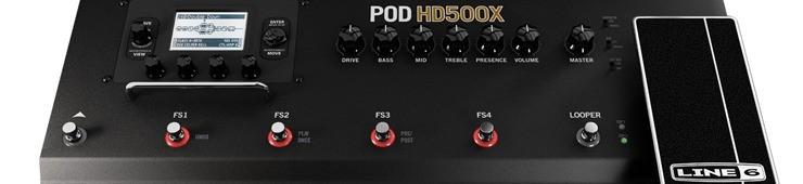 Test du POD HD500X de Line 6