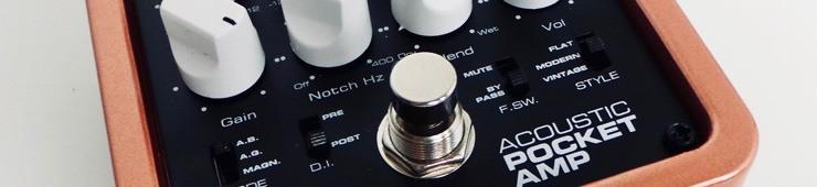 Test du préampli pour guitares électroacoustiques Palmer Pocket Amp Acoustic