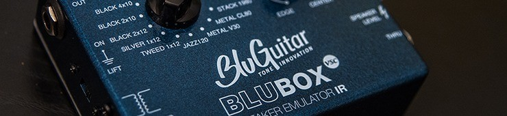 Test du simulateur de HP BluGuitar BluBox