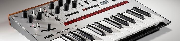 Test du synthétiseur analogique Korg Monologue - Audiofanzine