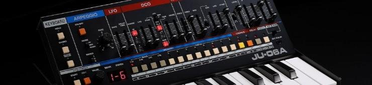 Test du synthétiseur Roland JU-06A