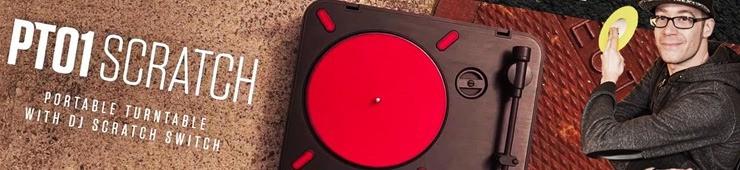 Test en vidéo de la platine vinyle Numark PT01 Scratch