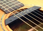 Les transducteurs pour guitare acoustique