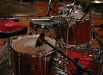 Comment un batteur prépare sa session d'enregistrement?