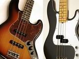 Test des Fender American Standard Jazz Bass et Precision Bass