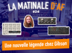 Dave Mustaine chez Gibson et du Distressor chez Softube !