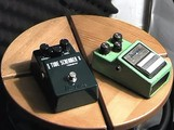 Comparatif de 2 pédales d'effets Ibanez Tube Screamer