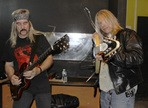 Interview de Bruce Franklin et Rick Wartell, guitaristes de Trouble