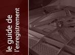 L'enregistrement du piano à queue en prise de proximité