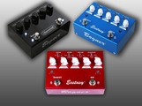 Test des 3 pédales d'overdrive/distorsion Bogner Ecstasy Blue, Esctasy Red et Überschall