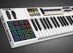 Test du clavier MIDI M-Audio Code 49