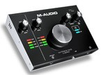 Test de l'interface audio M-Audio M-Track 2X2
