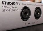 Test de l'interface audionumérique Presonus Studio 192