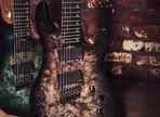 Test de la guitare électrique avec 7 cordes et du multi-diapason CortKX500FF