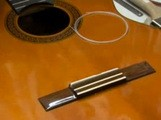 Changer les cordes d'une guitare classique